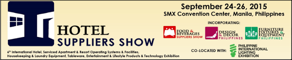 HOTEL SUPPLIERS SHOW 2015